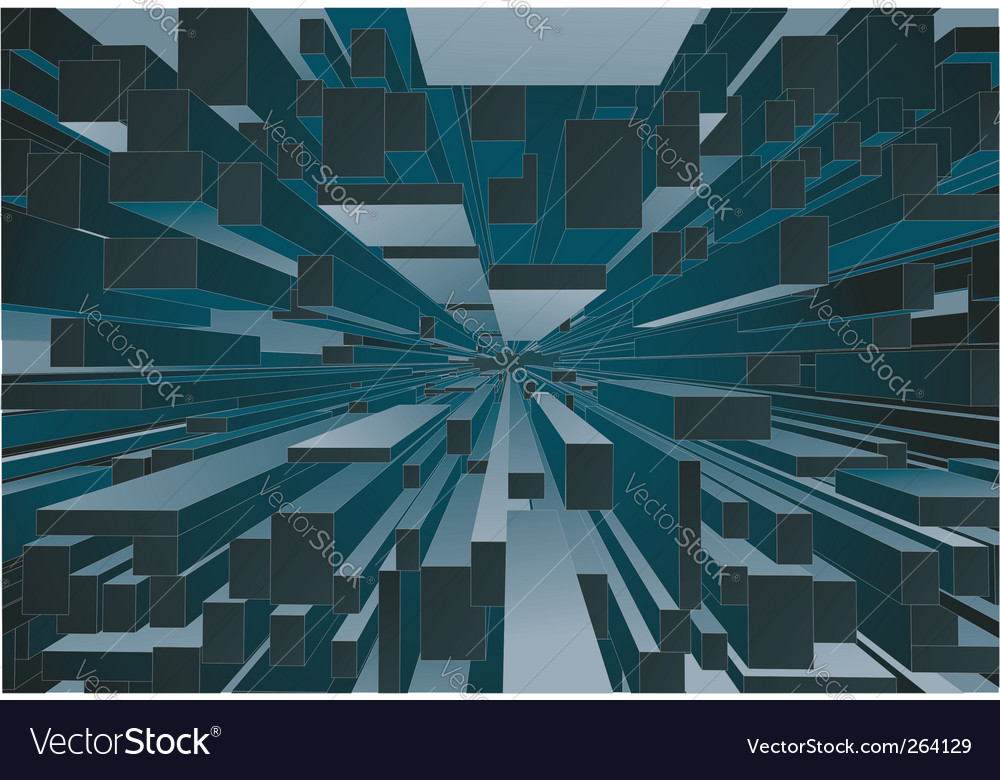 Abstract building background vector | Price: 1 Credit (USD $1)