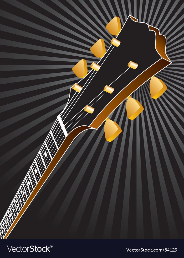 Guitar burst vector | Price: 1 Credit (USD $1)