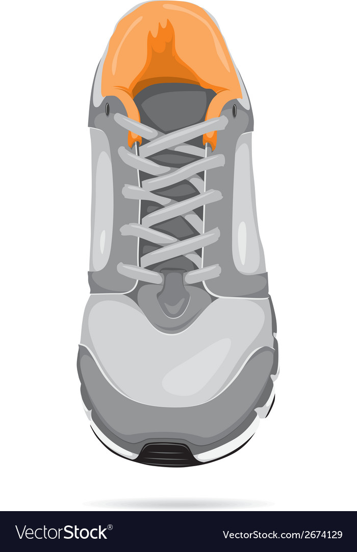 Running shoe vector | Price: 1 Credit (USD $1)