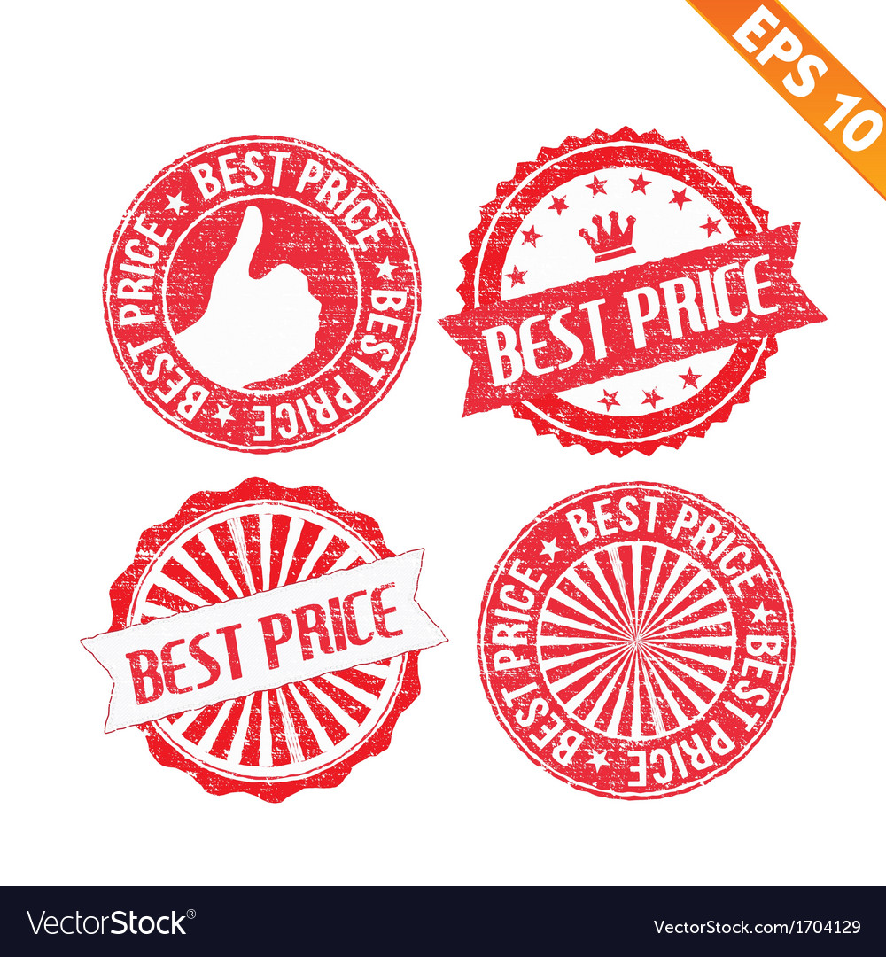 Stamp sticker best collection - - eps10 vector | Price: 1 Credit (USD $1)