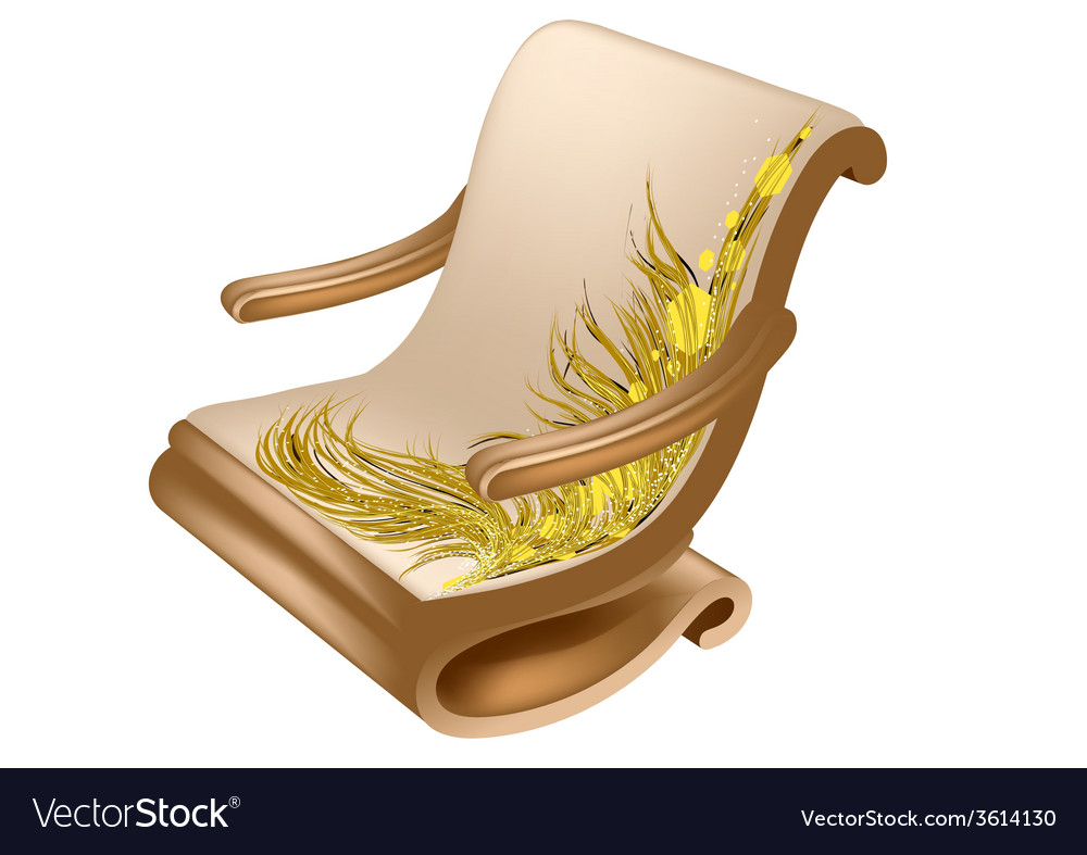 Armchair for reading vector | Price: 1 Credit (USD $1)