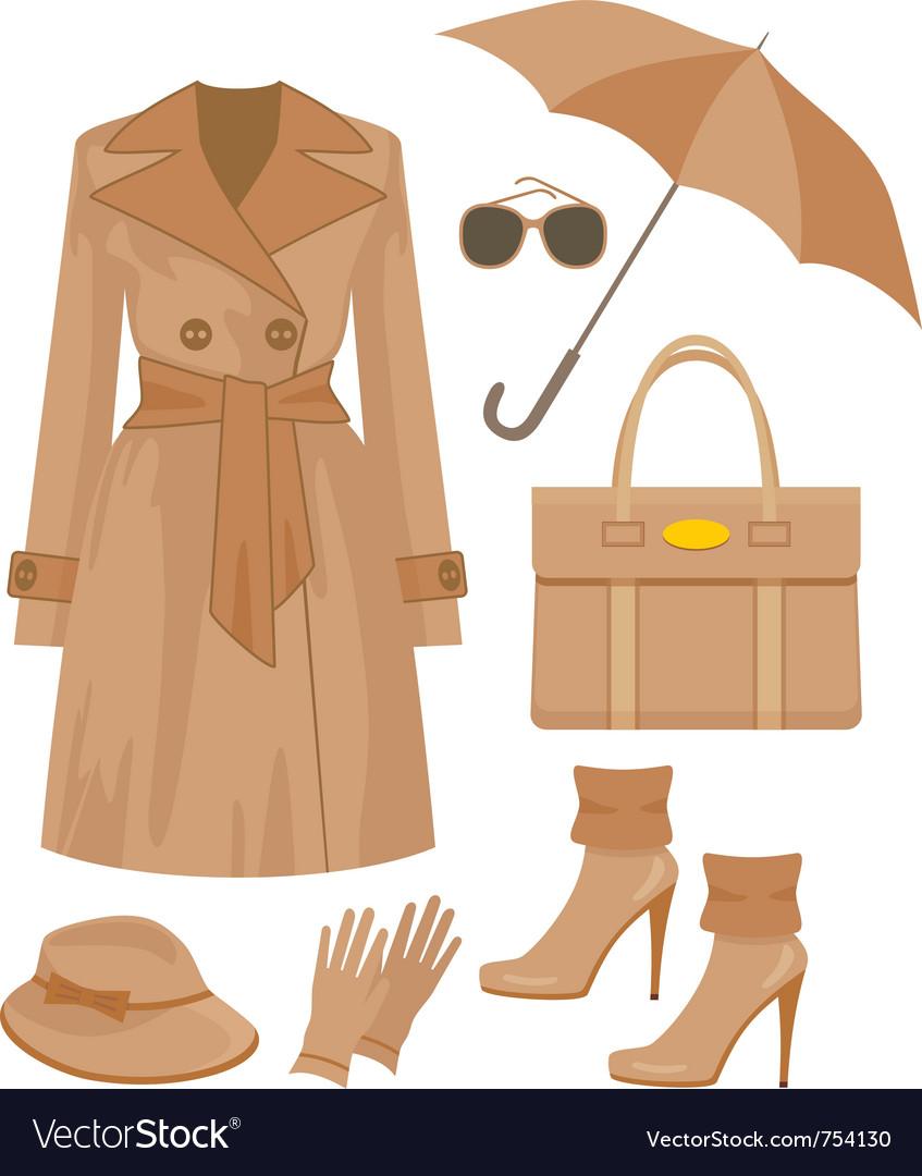 Fashion set vector | Price: 1 Credit (USD $1)