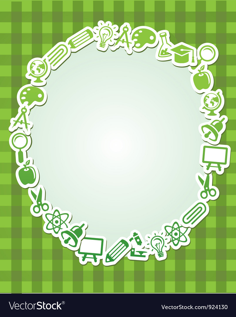 Frame with copy space for text vector | Price: 1 Credit (USD $1)