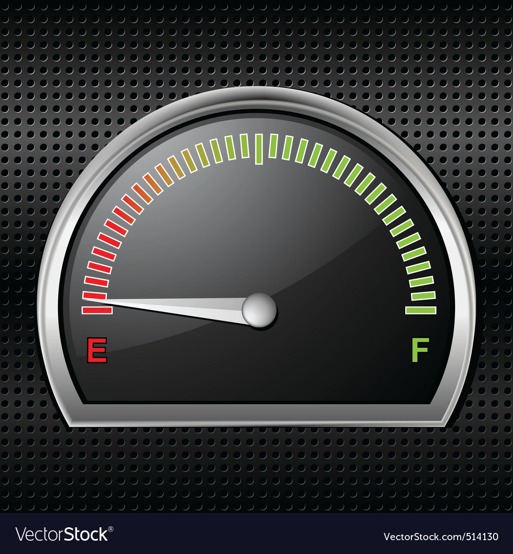 Fuel gauge full vector | Price: 1 Credit (USD $1)