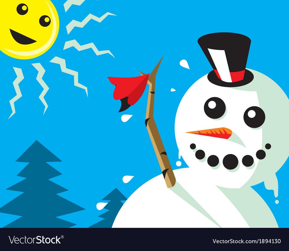 Good bye winter vector   Price: 1 Credit (USD $1)