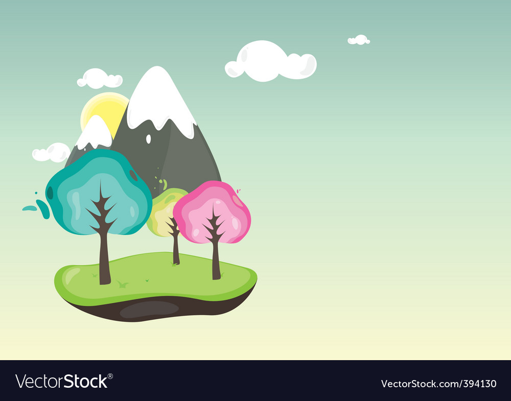 Spring bloom vector | Price: 1 Credit (USD $1)