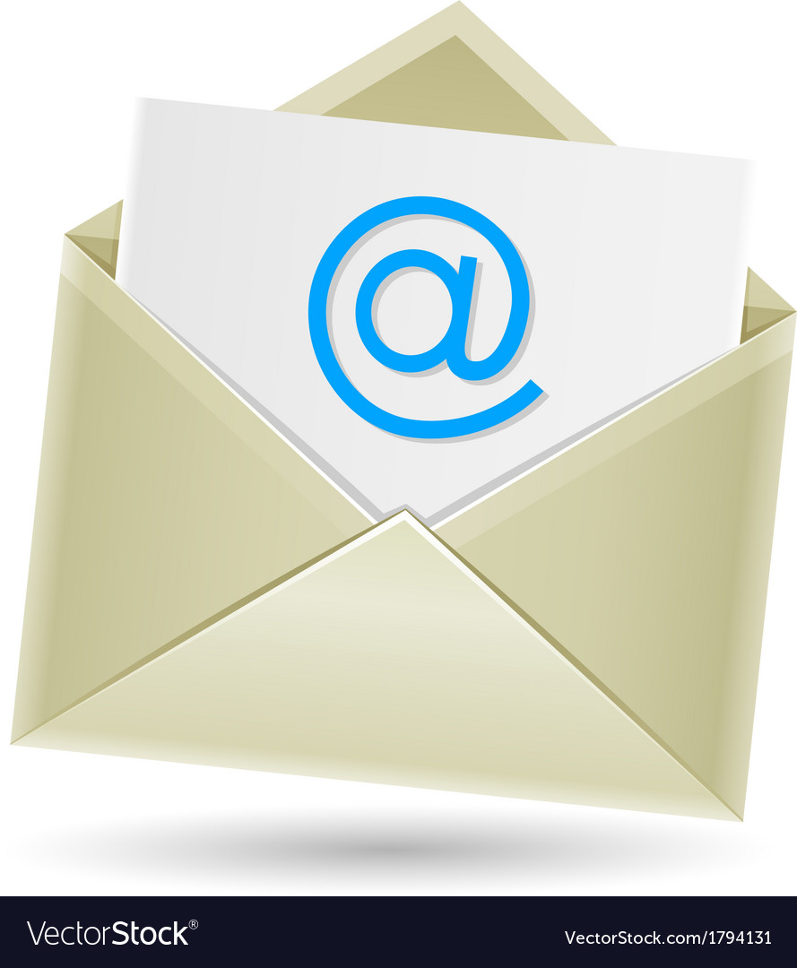 Email envelope vector | Price: 1 Credit (USD $1)