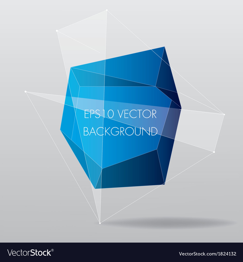 Abstract modern geometric background with lines vector | Price: 1 Credit (USD $1)