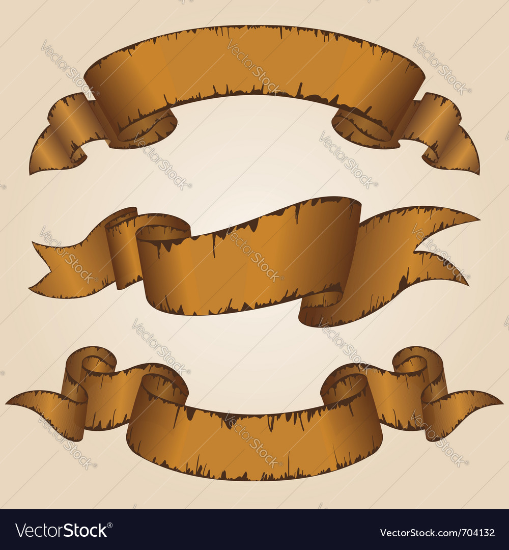 Decorative ribbon vector | Price: 1 Credit (USD $1)