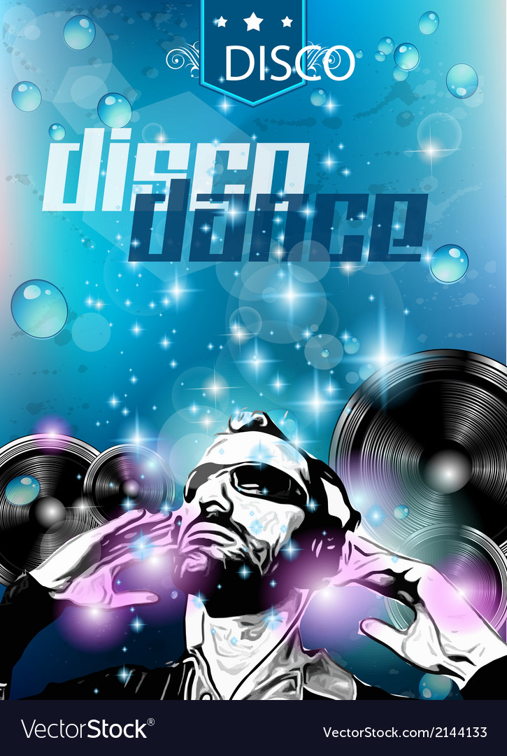 Club background for disco dance international vector | Price: 1 Credit (USD $1)