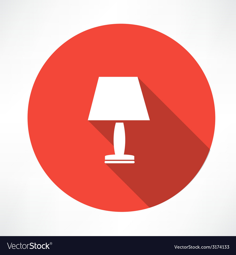 Nightlight lamp icon vector | Price: 1 Credit (USD $1)