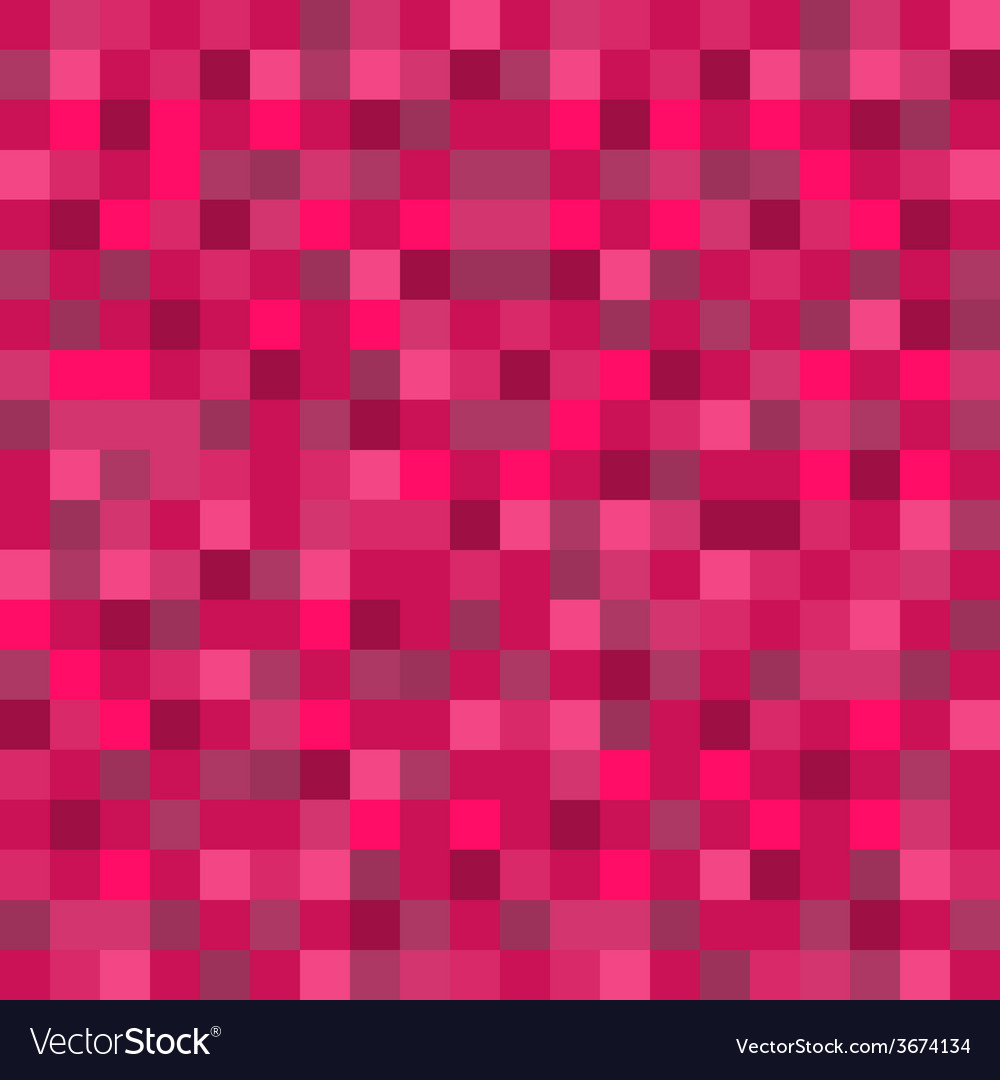 Abstract mosaic seamless pattern background in red vector | Price: 1 Credit (USD $1)