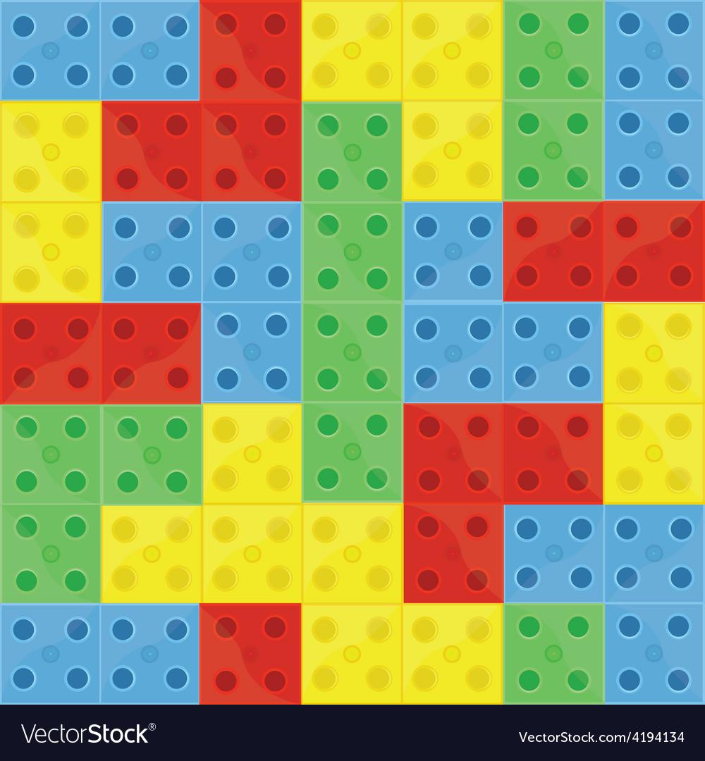 Pattern colorfull building blocks vector   Price: 1 Credit (USD $1)