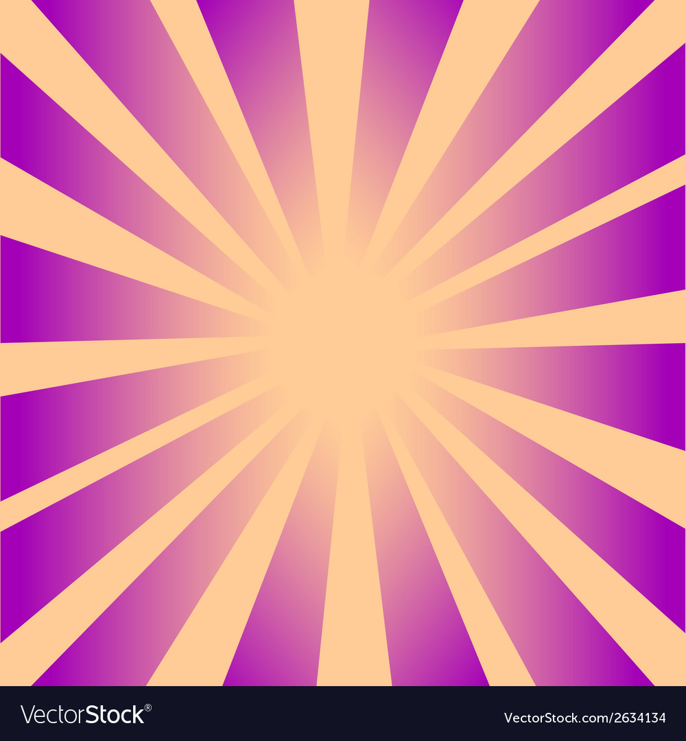 Retro rays background 2 vector | Price: 1 Credit (USD $1)