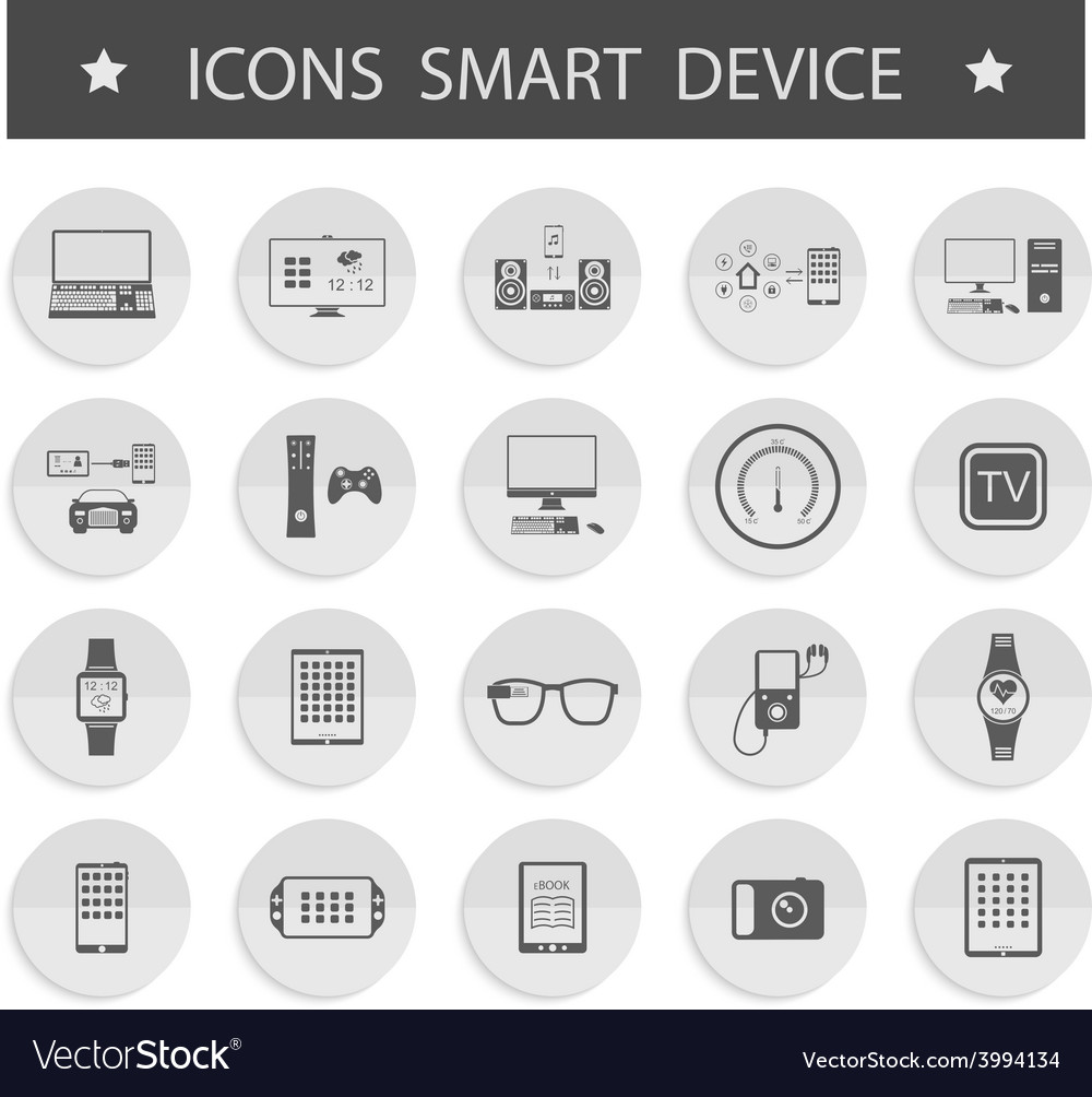 Smart devices vector | Price: 1 Credit (USD $1)