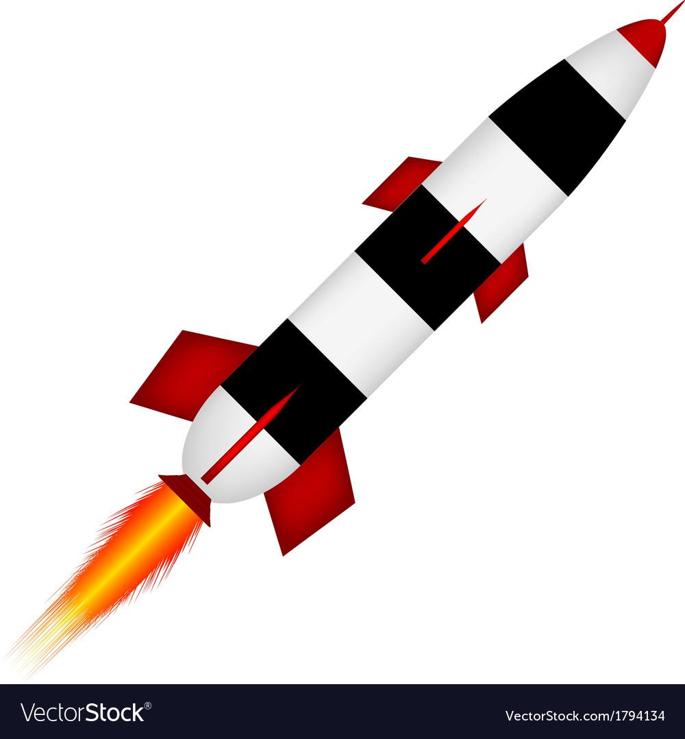 Start rocket vector | Price: 1 Credit (USD $1)