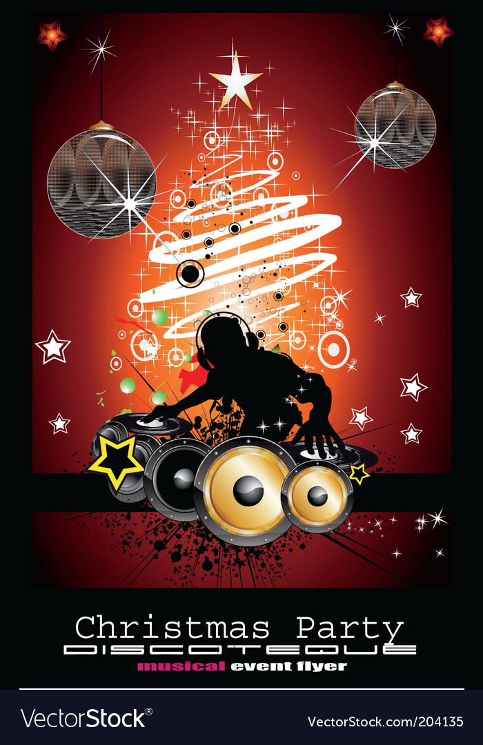 Christmas party vector | Price: 3 Credit (USD $3)