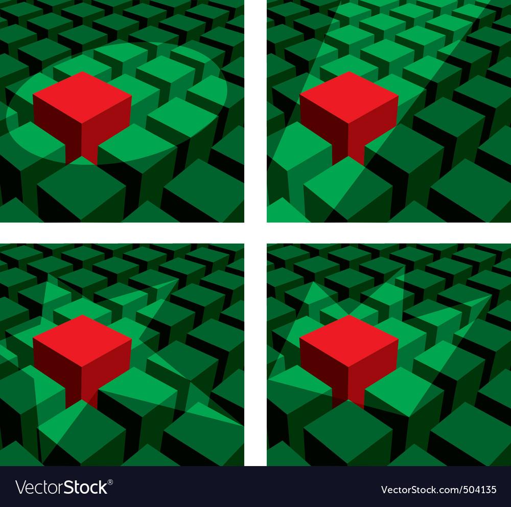 Cube light vector   Price: 1 Credit (USD $1)