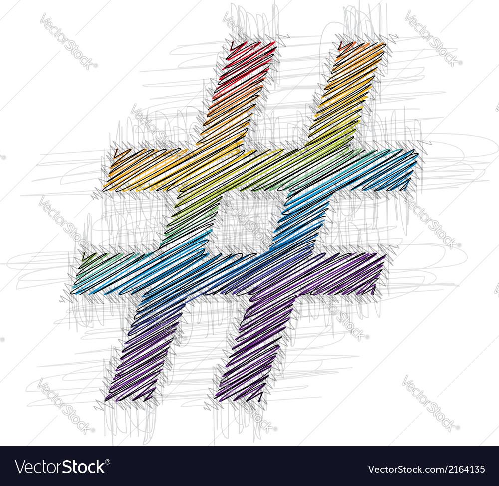 Hand drawn symbol vector   Price: 1 Credit (USD $1)