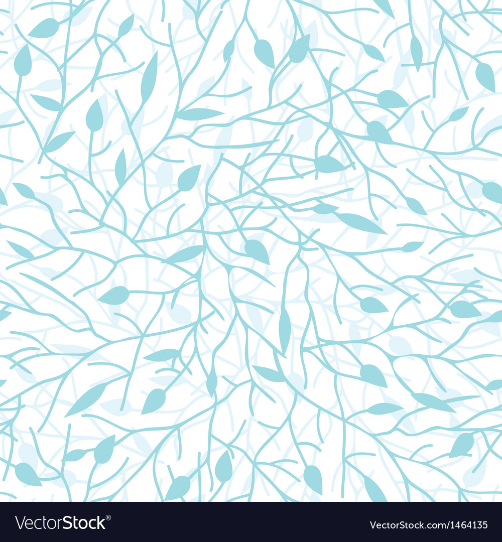 Tree branches seamless pattern background vector | Price: 1 Credit (USD $1)
