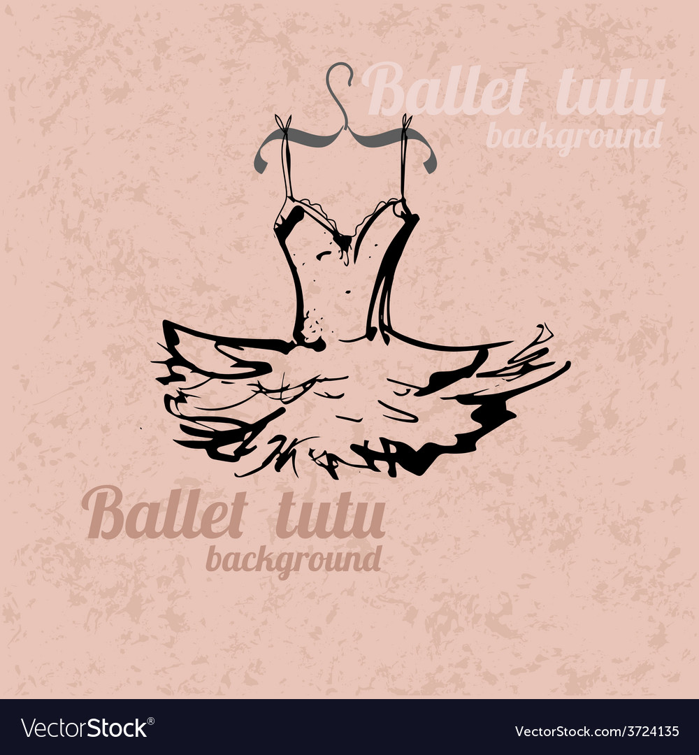 Tutu background vector | Price: 1 Credit (USD $1)