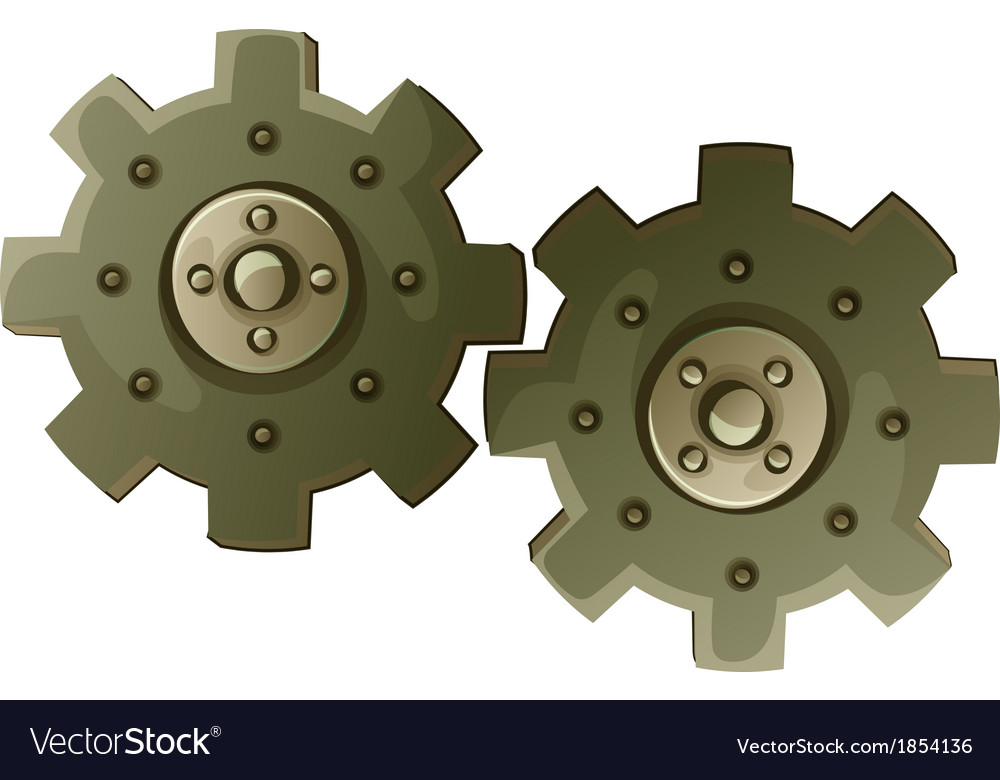 Cogwheel vector | Price: 1 Credit (USD $1)
