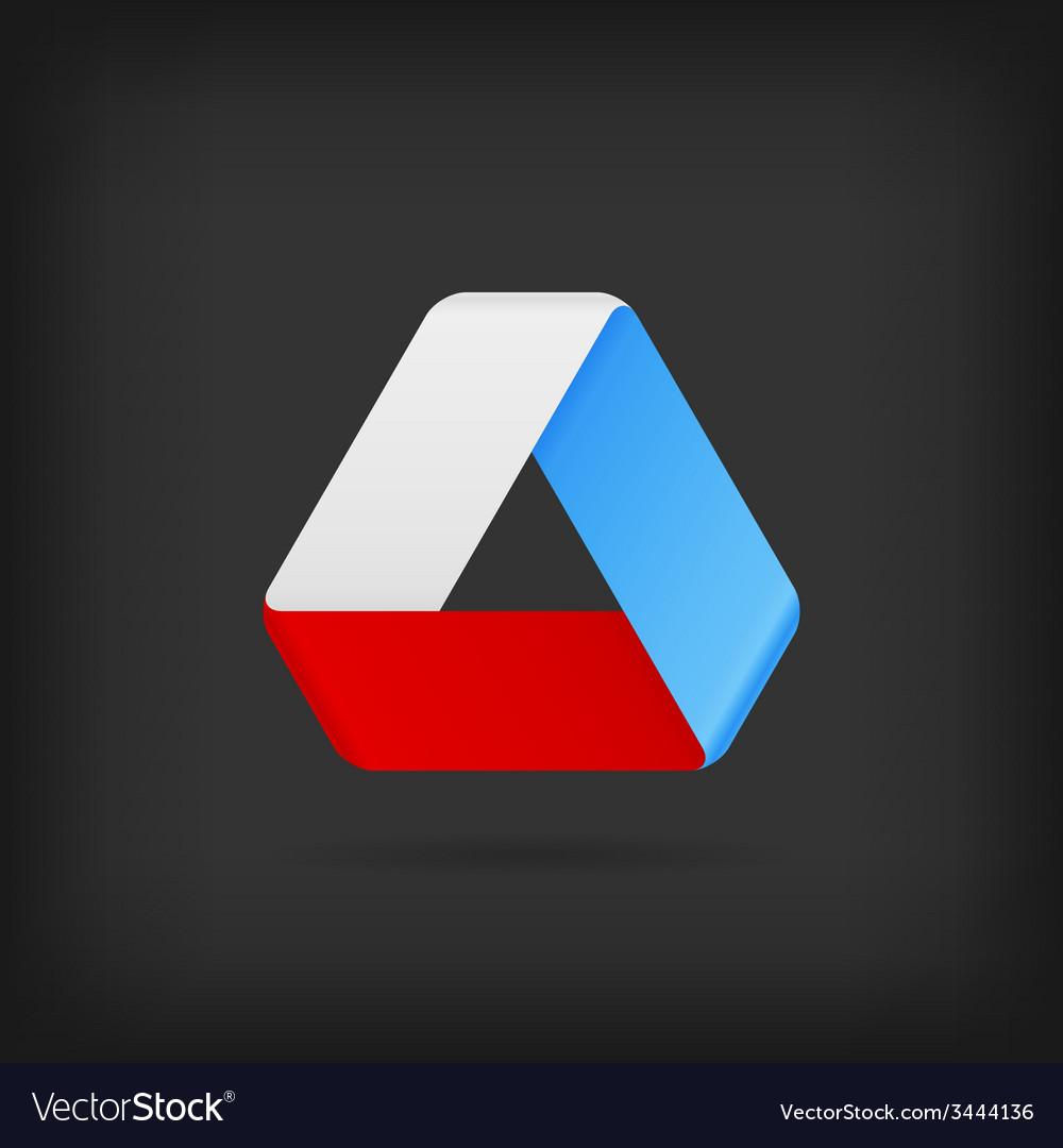 Logo or emblem template icon infinite mobius strip vector   Price: 1 Credit (USD $1)