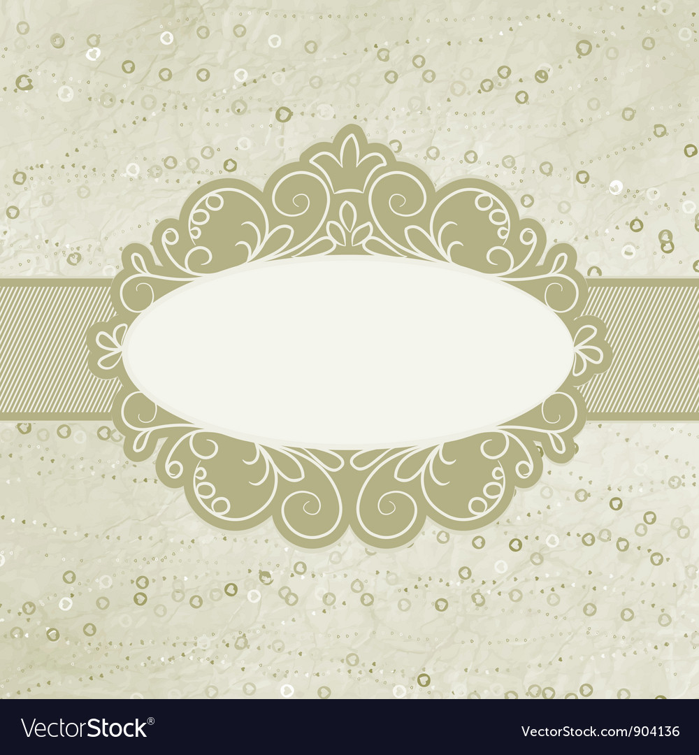 Valentine elegant card vector | Price: 1 Credit (USD $1)
