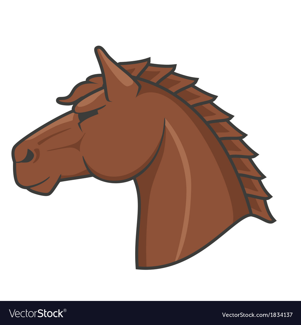 Logo horse vector | Price: 1 Credit (USD $1)
