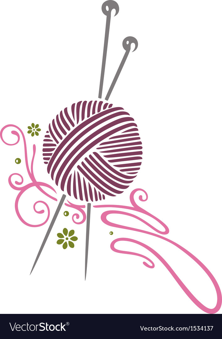 Needlework knitting vector | Price: 1 Credit (USD $1)