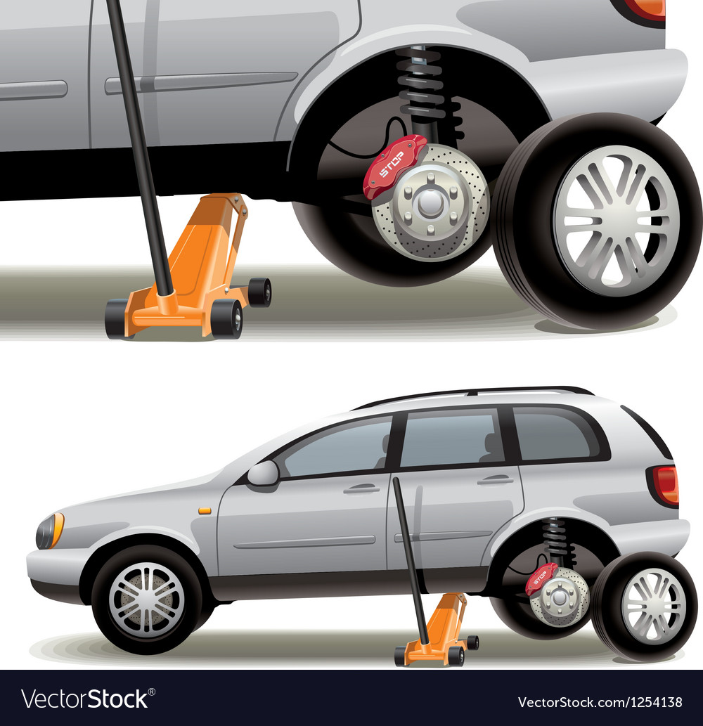 Tire repairs vector | Price: 3 Credit (USD $3)