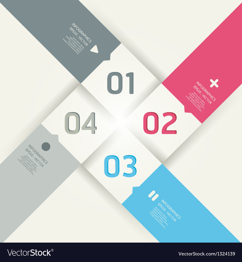 Modern design template can be used for infograph vector | Price: 1 Credit (USD $1)