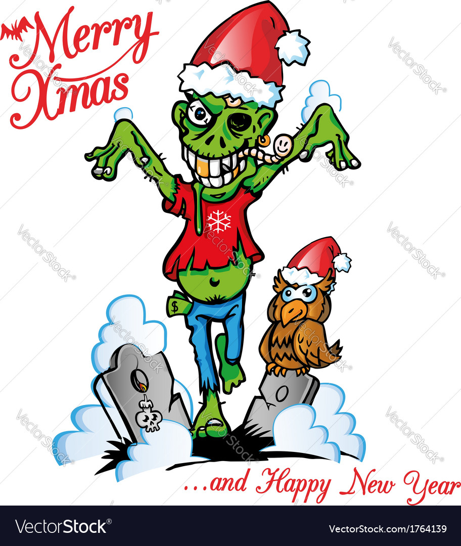 Zombie marry x mas vector | Price: 3 Credit (USD $3)
