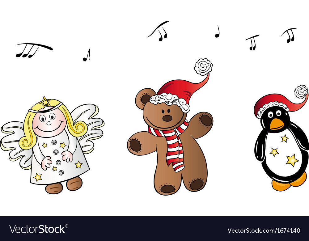 Christmas song vector | Price: 1 Credit (USD $1)