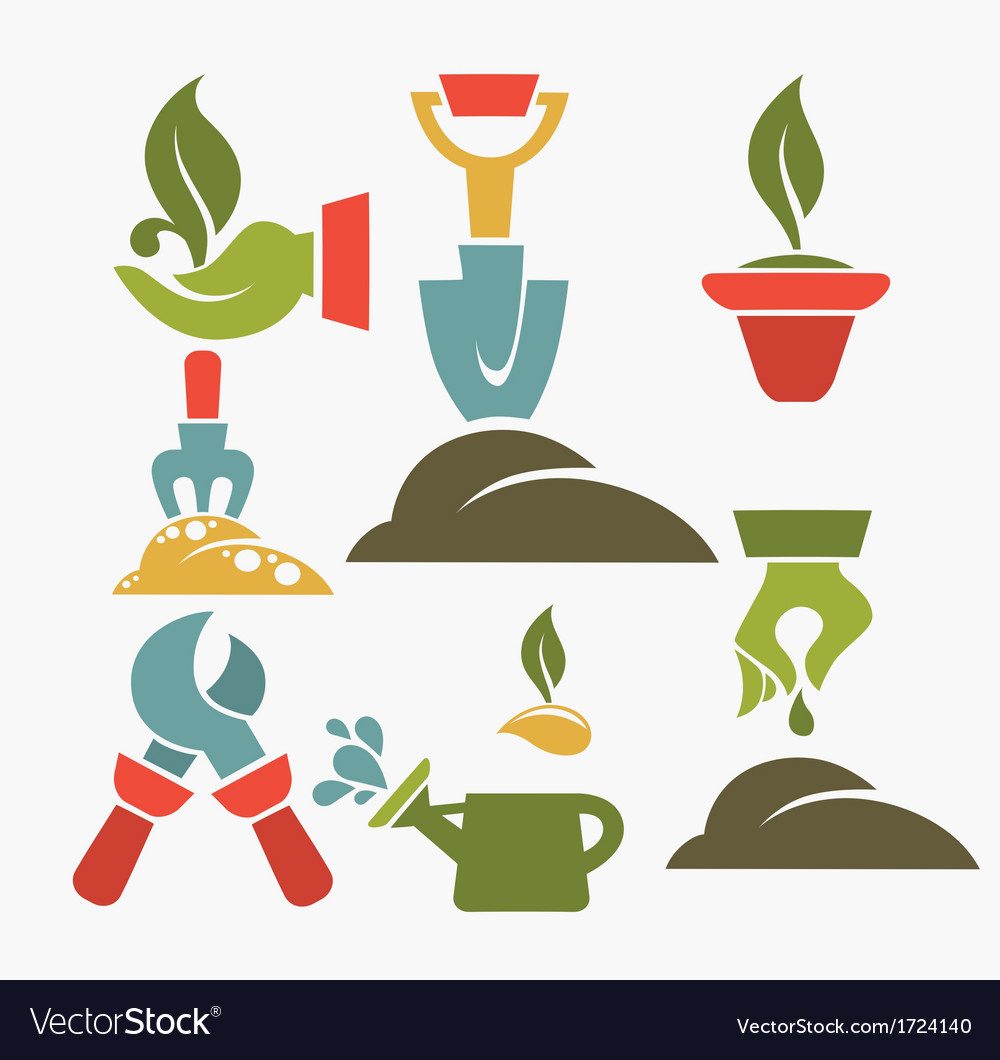 Green fingers vector | Price: 1 Credit (USD $1)