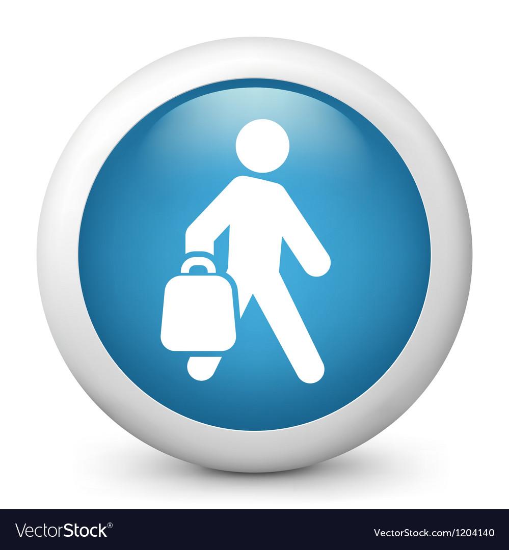 Shopper glossy icon vector | Price: 1 Credit (USD $1)