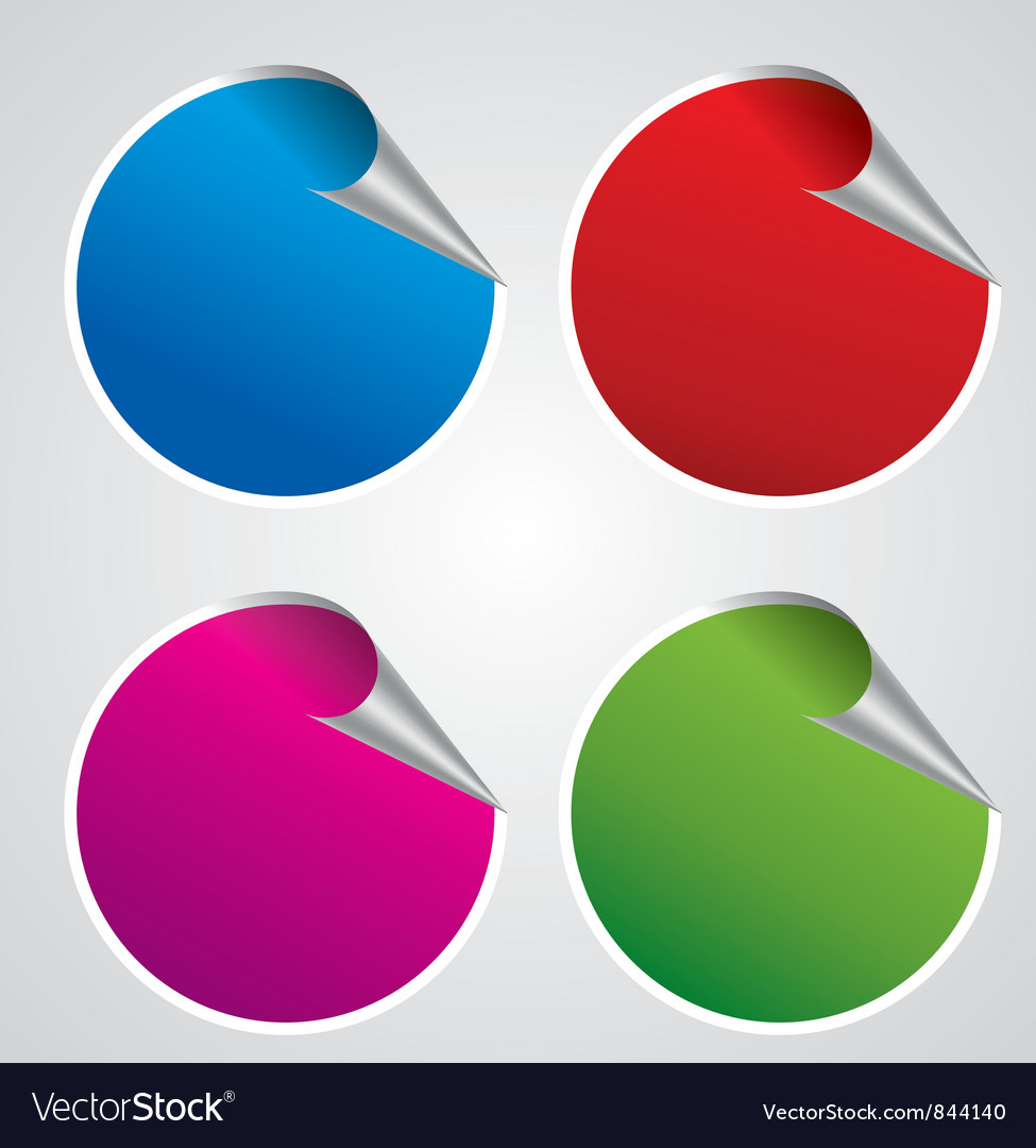 Stickers set vector | Price: 1 Credit (USD $1)
