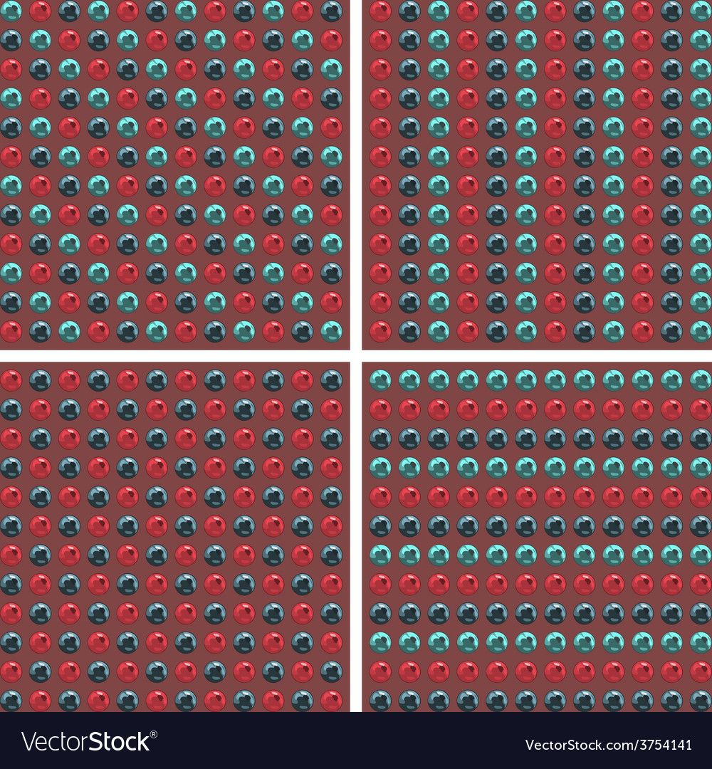 Blue and cherry metal balls background vector | Price: 1 Credit (USD $1)