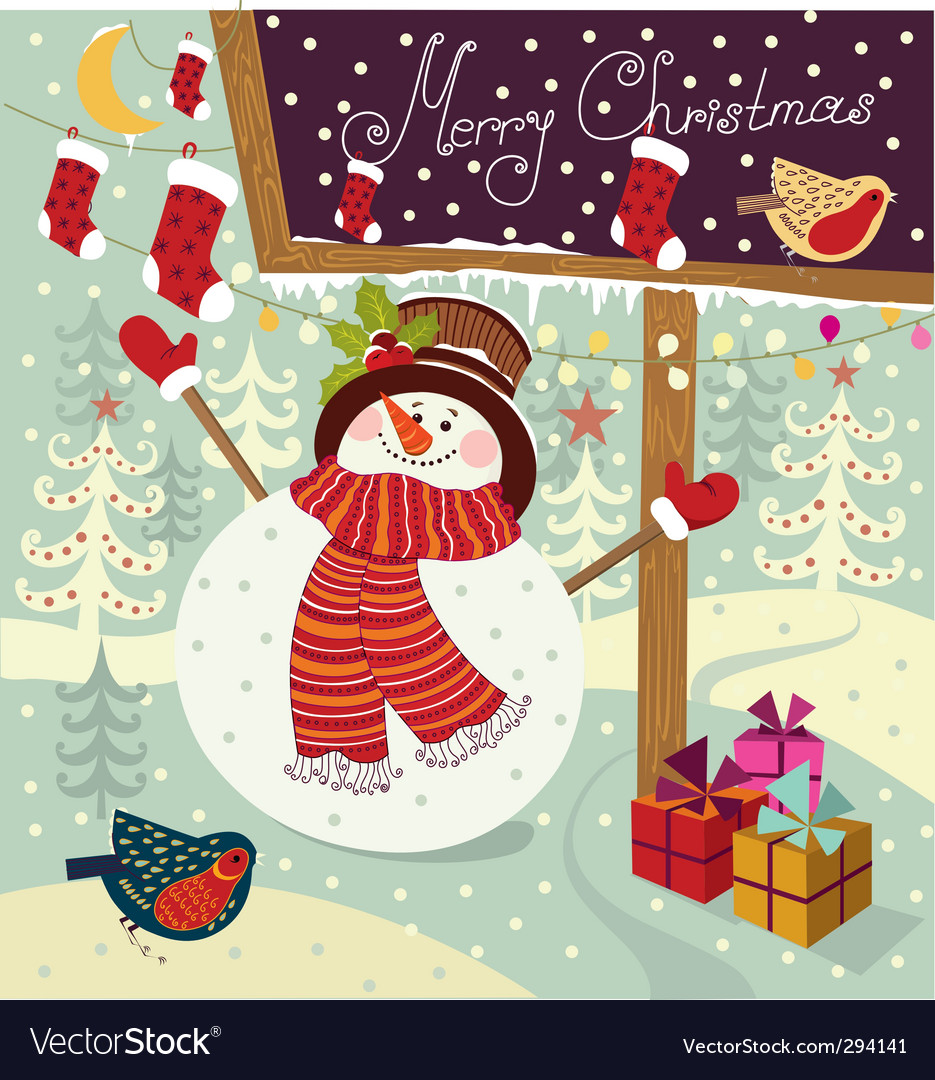 Christmas card design vector   Price: 3 Credit (USD $3)