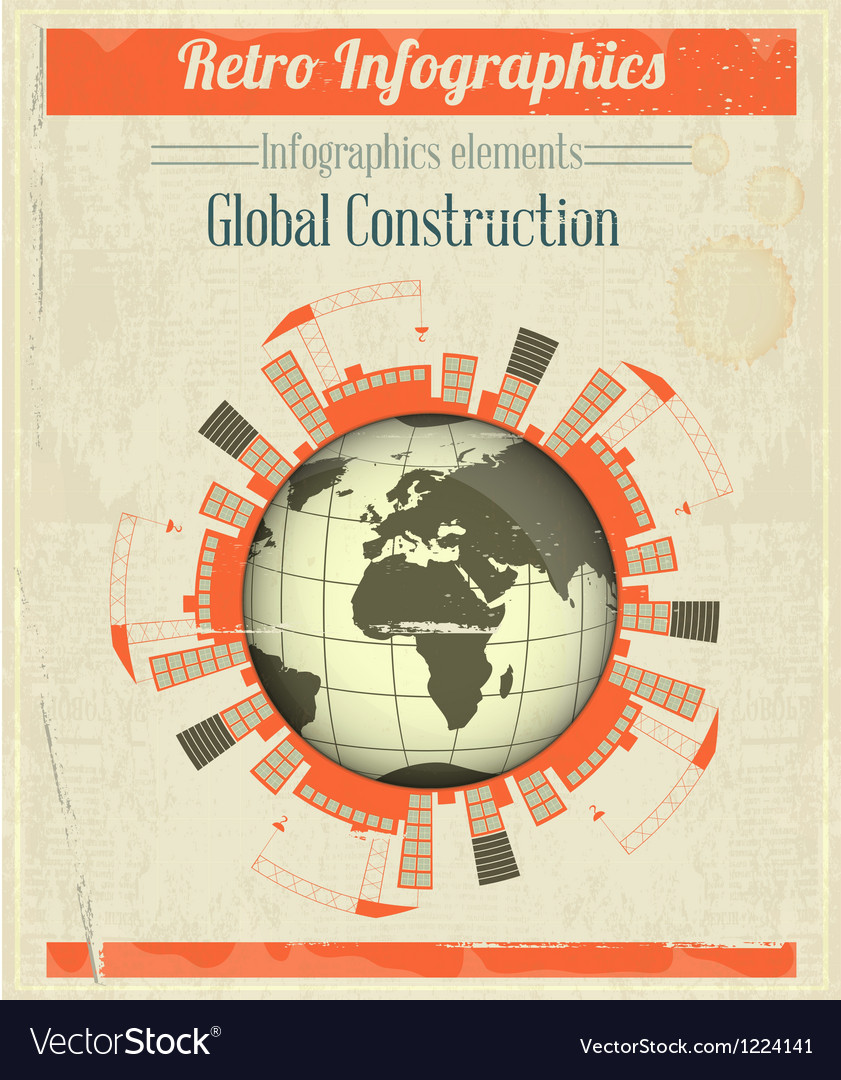 Concept of global construction vector | Price: 3 Credit (USD $3)
