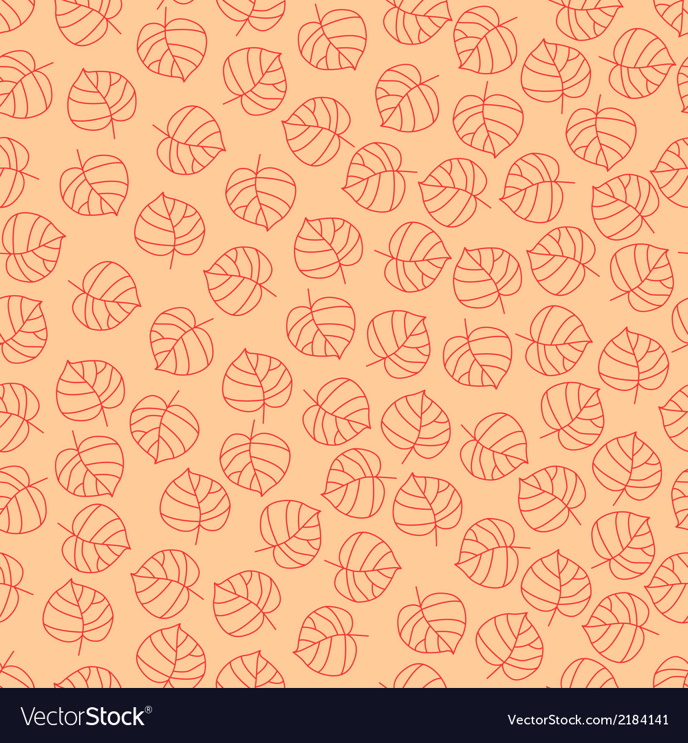 Retro leaves vector | Price: 1 Credit (USD $1)