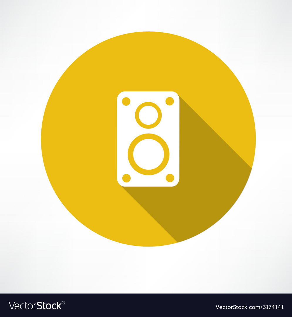 Speaker icon vector | Price: 1 Credit (USD $1)