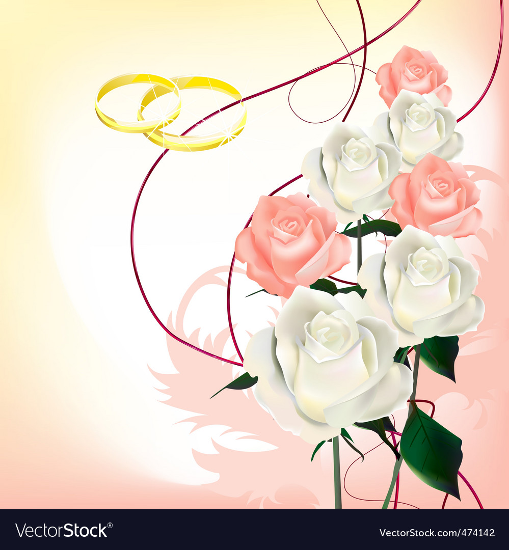 Bridal bouquet vector | Price: 1 Credit (USD $1)
