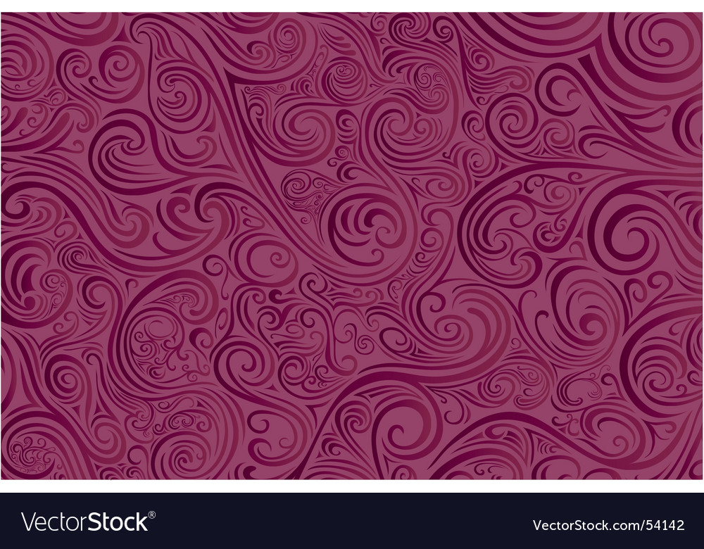 Pink scrollwork vector | Price: 1 Credit (USD $1)