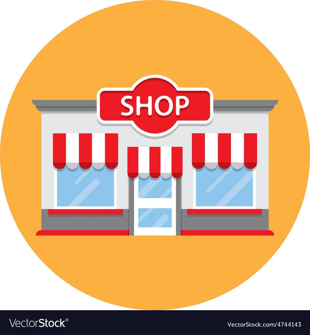 Shop building vector   Price: 1 Credit (USD $1)