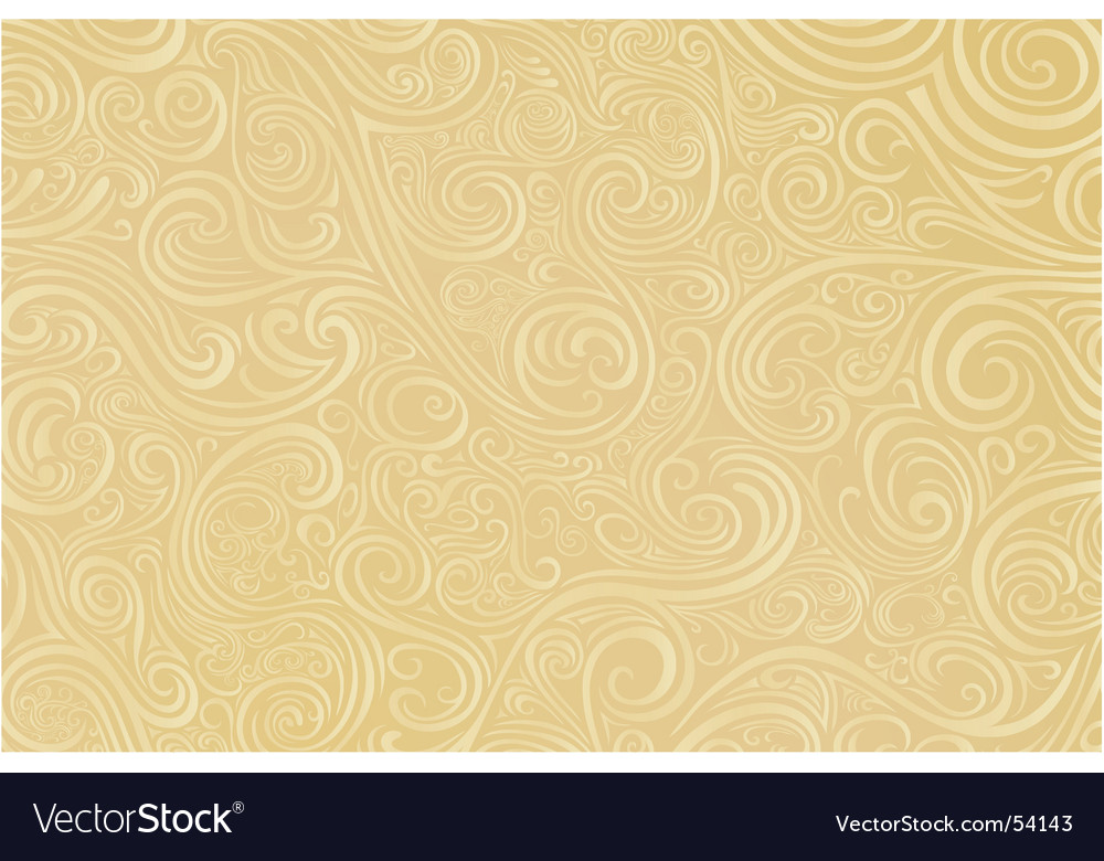 Tan scroll work vector | Price: 1 Credit (USD $1)