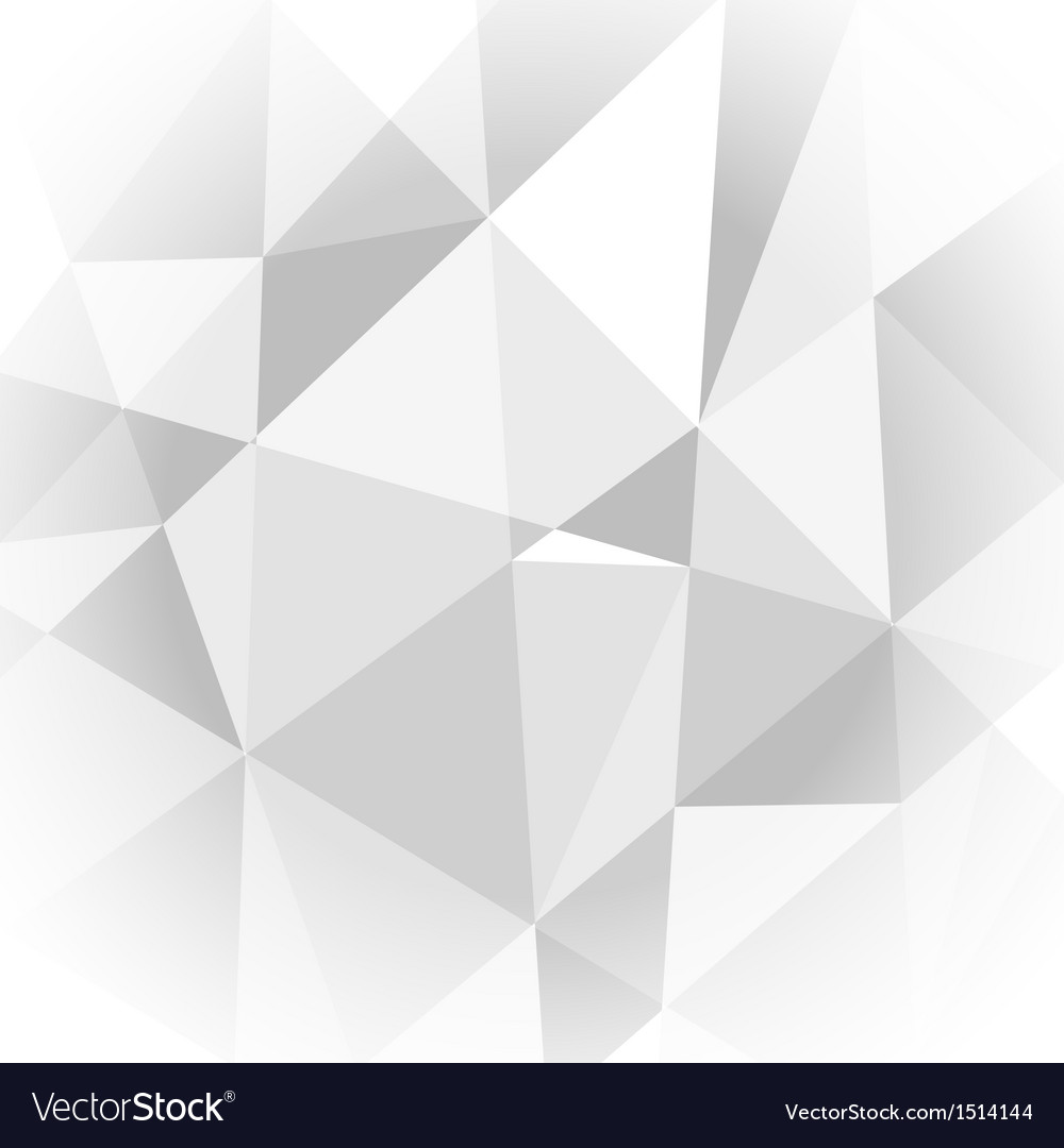 Abstract light grey geometric background vector | Price: 1 Credit (USD $1)