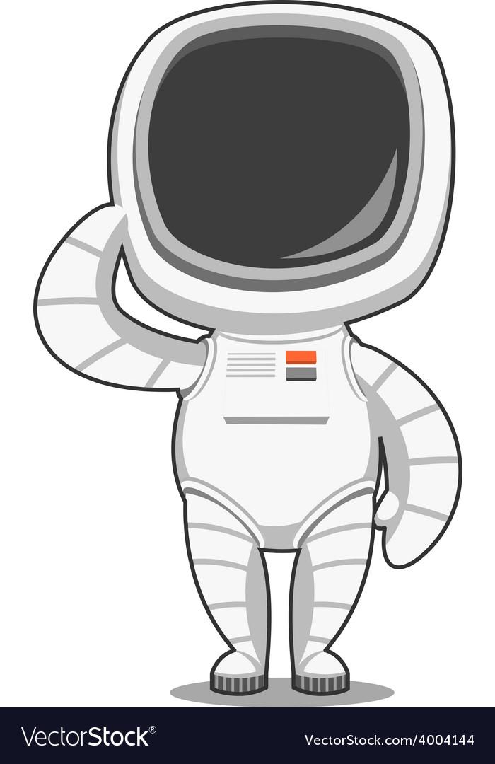 Astronaut welcomes vector | Price: 1 Credit (USD $1)