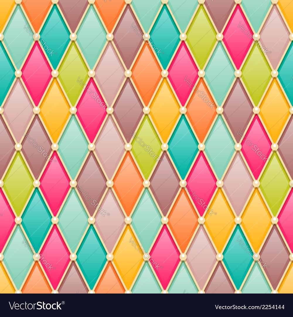 Diamonds fairy tale pattern vector | Price: 1 Credit (USD $1)