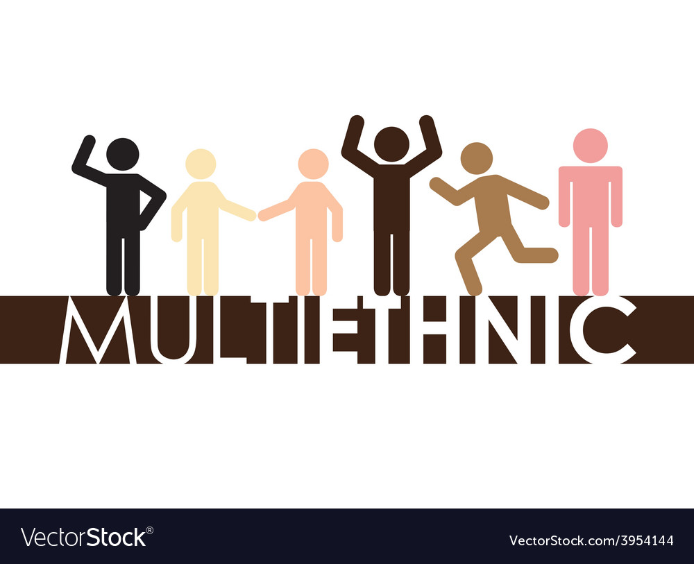 Multiethnic community vector   Price: 1 Credit (USD $1)